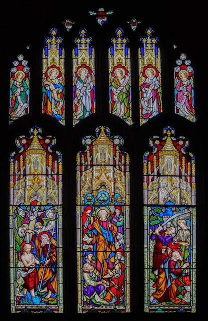 St John window, St Mary's church, Beverley