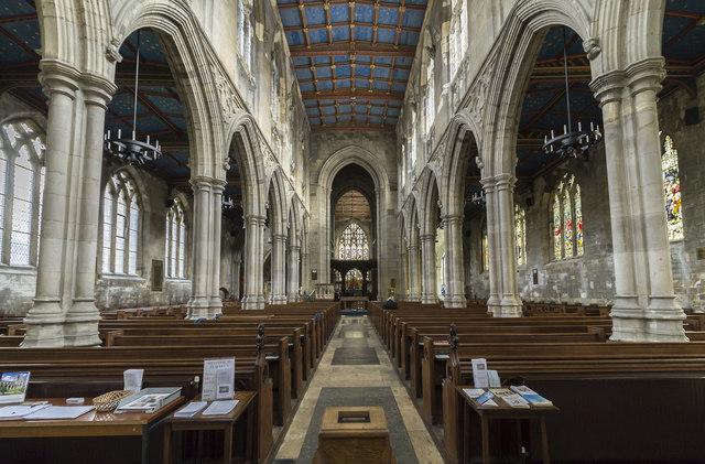 Interior, St Mary's church, Beverley