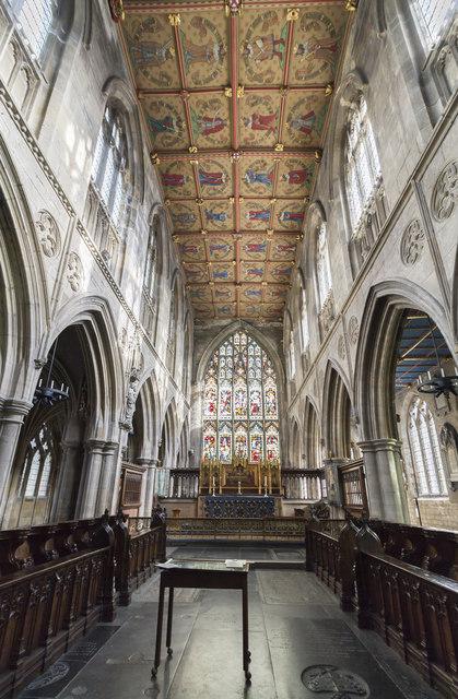 Chancel, St Mary's church, Beverley