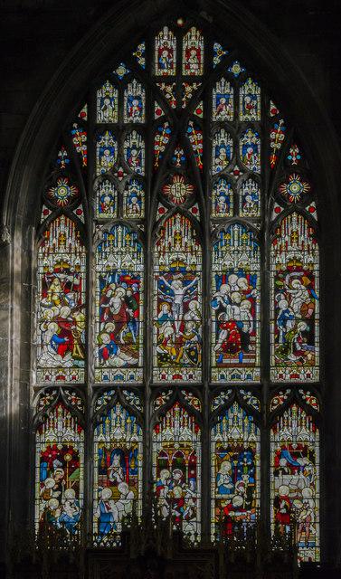East window, St Mary's church, Beverley