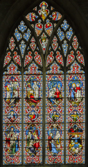South transept window, St Mary's church, Beverley