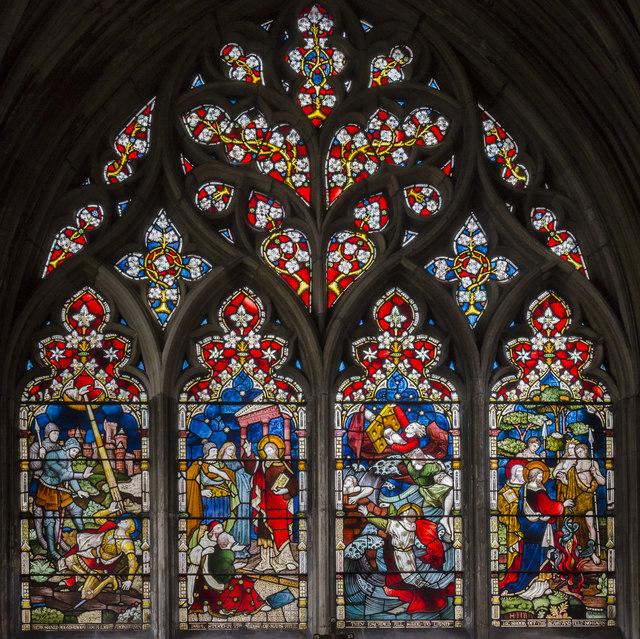 St Paul window, St Mary's church, Beverley