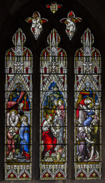 Stained glass window n.XII, St Mary's church, Beverley
