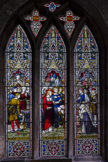 Stained glass window s.II, St Mary's church, Beverley