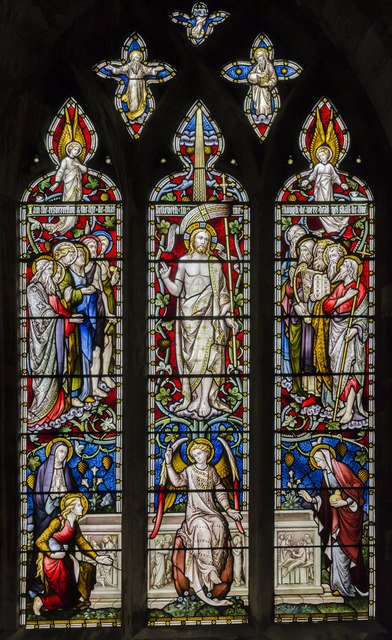 Stained glass window s.V, St Mary's church, Beverley