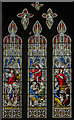 TA0339 : Stained glass window s.XV, St Mary's church, Beverley by Julian P Guffogg