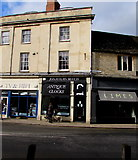 SP0202 : From West Market Place to Gosditch Street, Cirencester by Jaggery