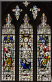 TA0339 : Stained glass window s.XVI, St Mary's church, Beverley by Julian P Guffogg