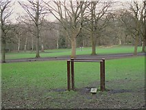 SE2436 : Parallel bars, Bramley Fall  by Stephen Craven