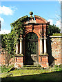 TG1602 : Entrance into the walled garden by Evelyn Simak
