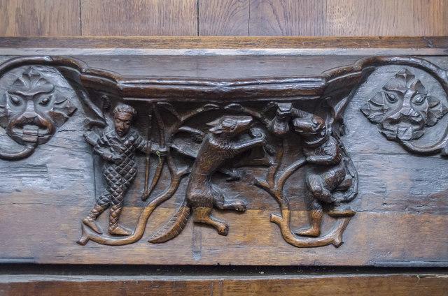 Misericord S13, St Mary's church, Beverley