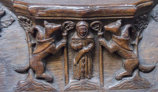 Misericord S4, St Mary's church, Beverley
