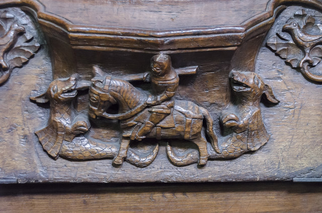 Misericord N4, St Mary's church, Beverley