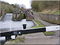 SO9186 : Lock No5 View by Gordon Griffiths