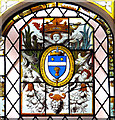 TG1602 : Stained glass in Ketteringham Hall by Evelyn Simak