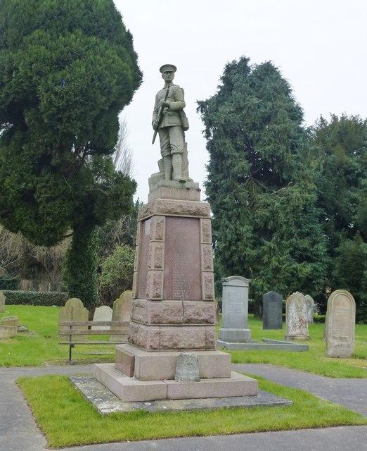 War memorial, Walsoken, Wisbech