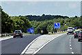 SE2911 : Northbound M1, Exit Sliproad at Junction 38 by David Dixon