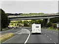 SE3014 : Northbound M1, Dennington Lane Bridge by David Dixon
