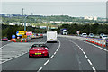SE3016 : Northbound M1 at Junction 39 by David Dixon