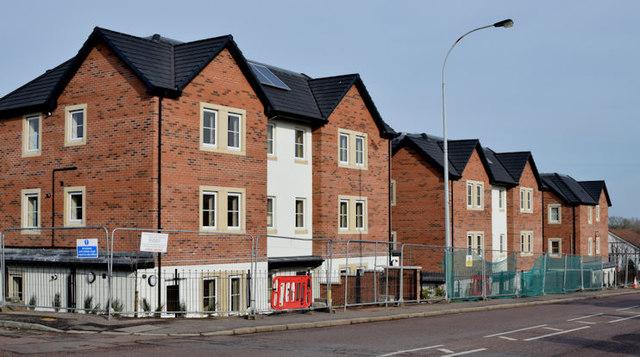 Holywood Road development site, Belfast (February 2016)
