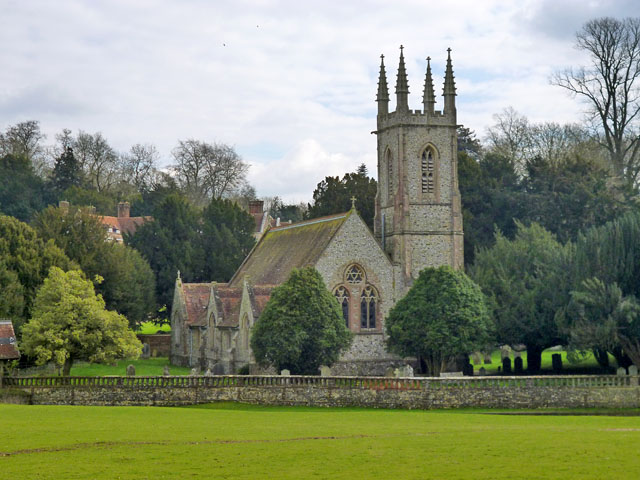Chawton church