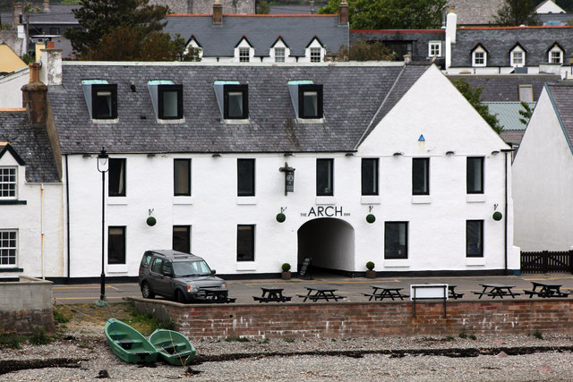 The Arch Inn, 10-11 West Shore Street, Ullapool from the Ullapool ferry