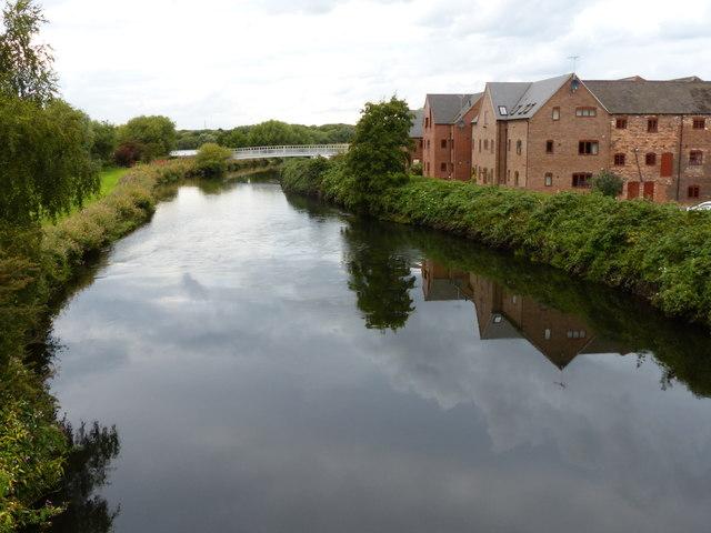 River Tame at Hemlingford Mill