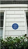 TQ2881 : Mansfield Street, London W1: architects' blue plaque by Christopher Hilton