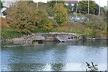 SX5053 : Wreck, Billacombe Brook by N Chadwick