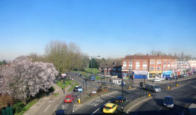 Alexandra Avenue and Northolt Road