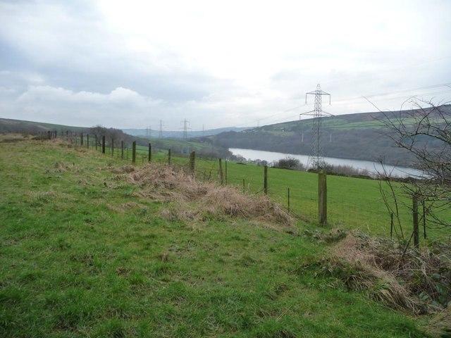 Power lines in Longdendale