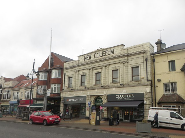 Former Theatre, Whitley Bay