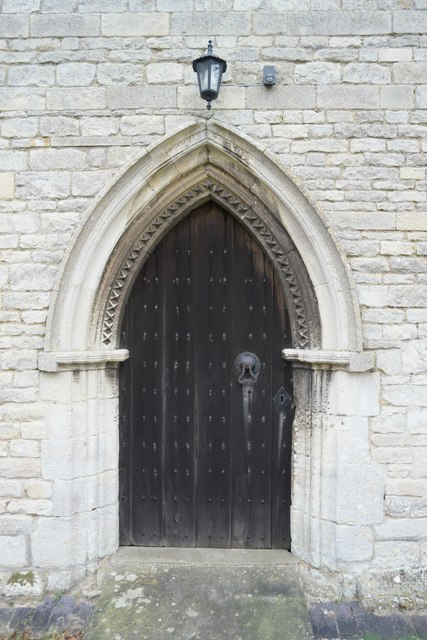Church of St Nicholas: The door