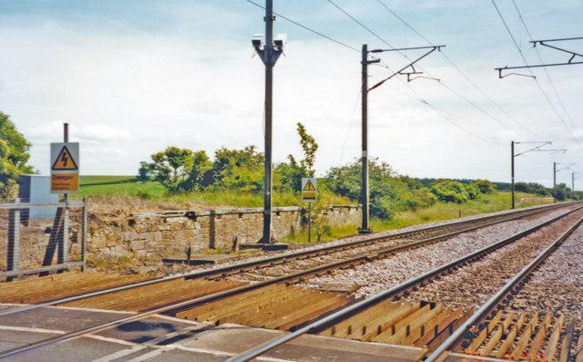Lucker Railway Station (1847 - 1965)