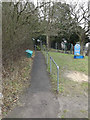 TM3569 : Footpath to Mount Pleasant by Adrian Cable