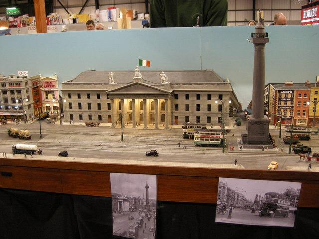 Dublin in Glasgow (in miniature)