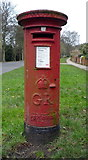 TA0288 : George V postbox on Woodland Ravine, Scarborough by JThomas