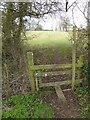 SO8642 : Stile at Earl's Croome by Philip Halling