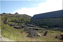 SH1726 : Mynwent Eglwys Hywyn Sant - St Hywyn's Church graveyard by Alan Fryer