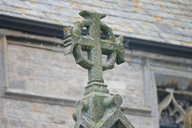 St Peter's Church: Finial on porch