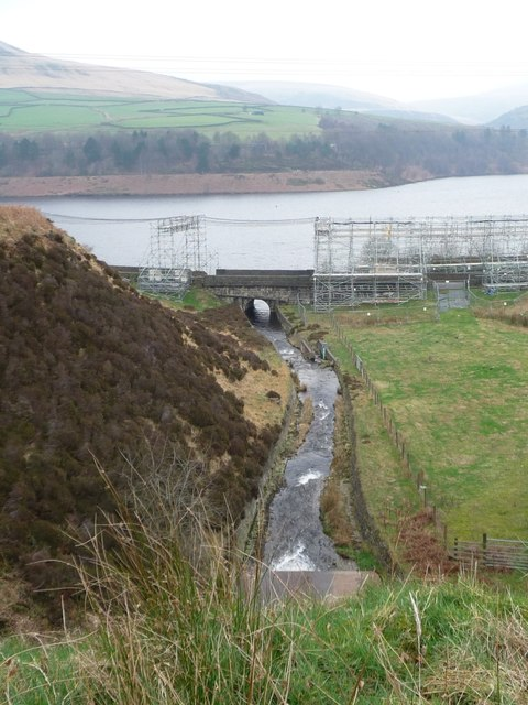 Torside Bridge and Torside Clough