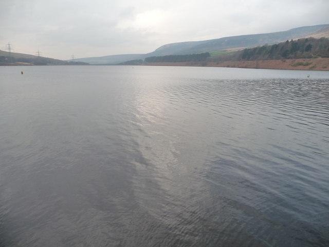 Torside Reservoir, full in February