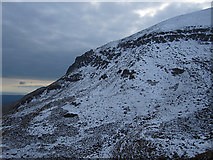 S3310 : Cliffs with Snow by kevin higgins
