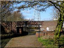 SO9394 : Anchor Bridge near Deepfields, Coseley by Roger  Kidd