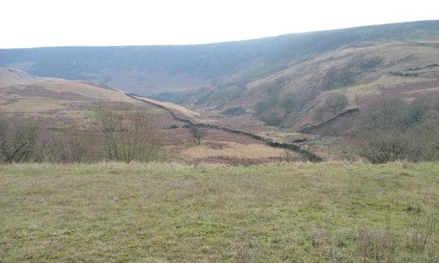 The valley of Torside Clough, Longdendale