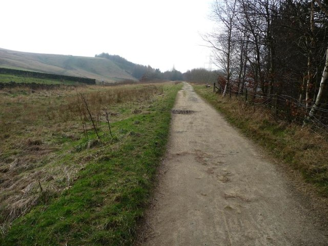 The Longdendale Trail, heading west near Old House