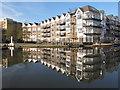 TQ1777 : Apartments by Brentford Lock by David Hawgood