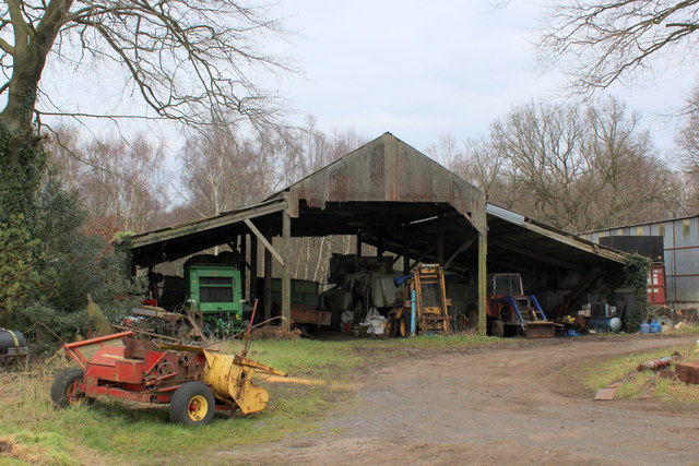 Outbuildings attached to Oak Tree Farm