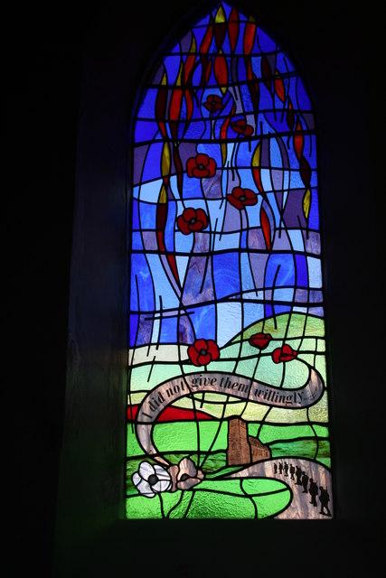 Beechey Brothers' (and Mum's) window in Friesthorpe Church