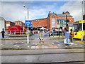SD8913 : Metrolink Foot Crossing at Rochdale Terminus by David Dixon